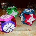 Origami Kugel 1